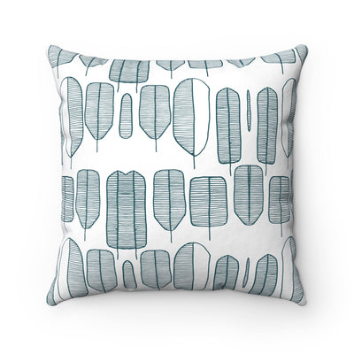 Tree Collection Spun Polyester Square Pillow Case - Design Prints
