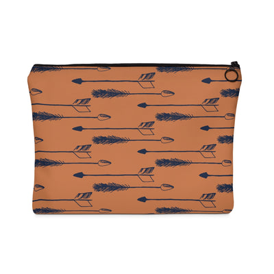 Tawny Arrows Carry All Pouch - Design Prints