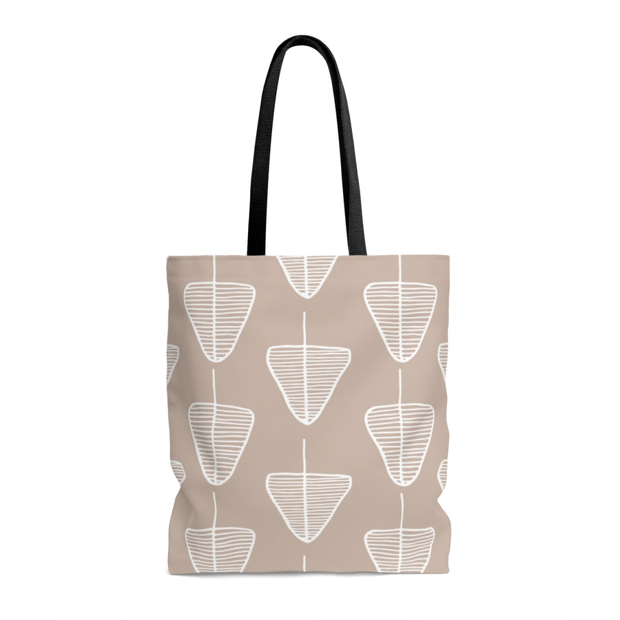 Calm Cone Trees AOP Tote Bag