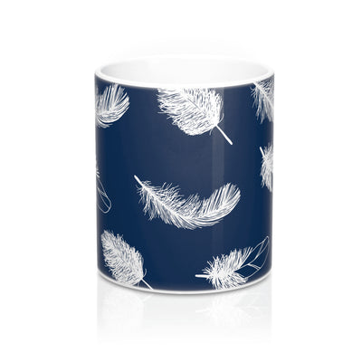 Oxford Feather Mug
