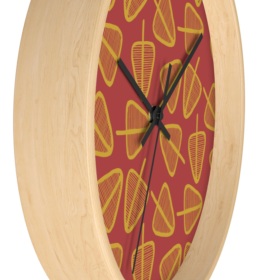 Cone Trees Wall clock