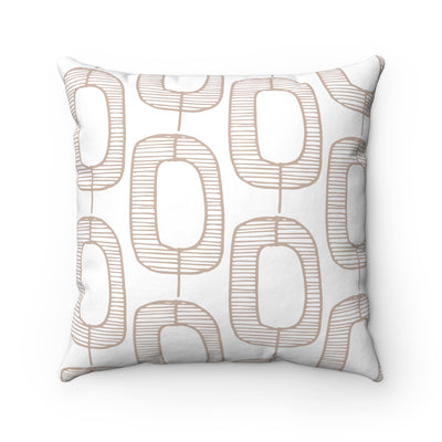 Hollowed Trees Square Pillow - Design Prints