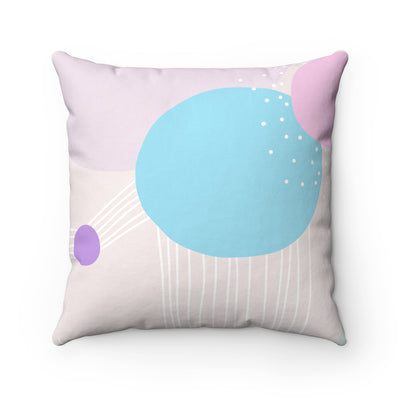 Cocoon Spun Polyester Square Pillow Case - Design Prints