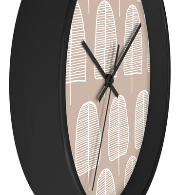 Brown Forest Wall clock - Design Prints