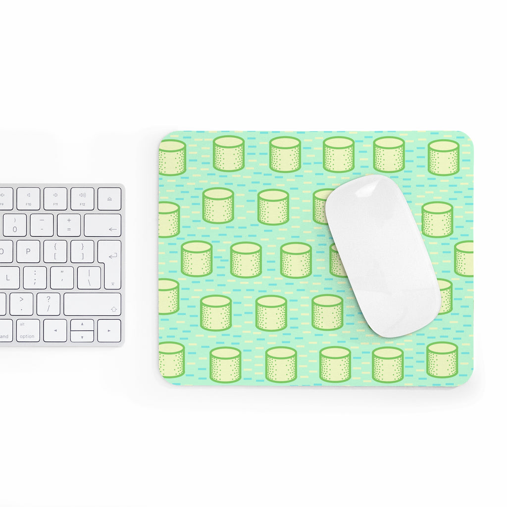 Pop Cylinders Mousepad