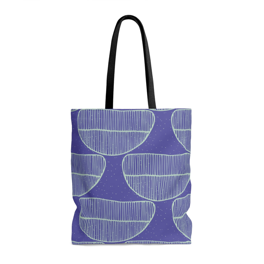 Cool Blues AOP Tote Bag