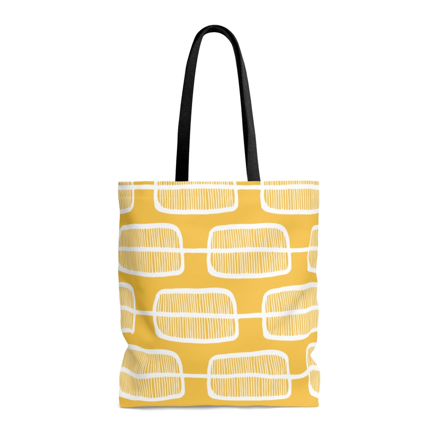 Orange Forest AOP Tote Bag