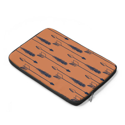 Tawny Arrows Laptop Sleeve - Design Prints