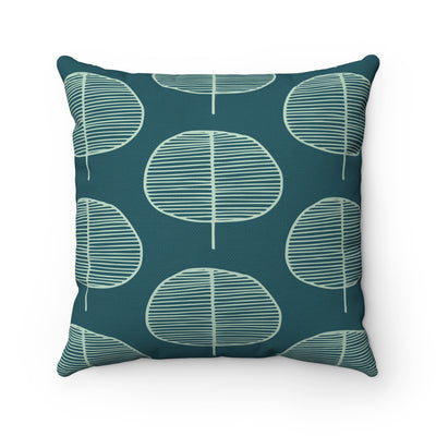 Oval Garden Square Pillow