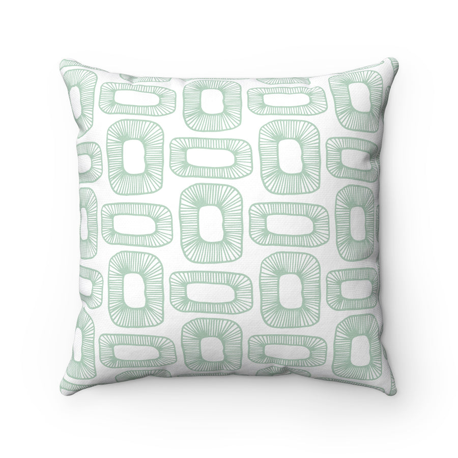 Plant Cells Square Pillow