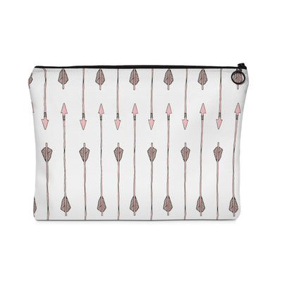 Arrow My Heart Too Carry All Pouch - Design Prints