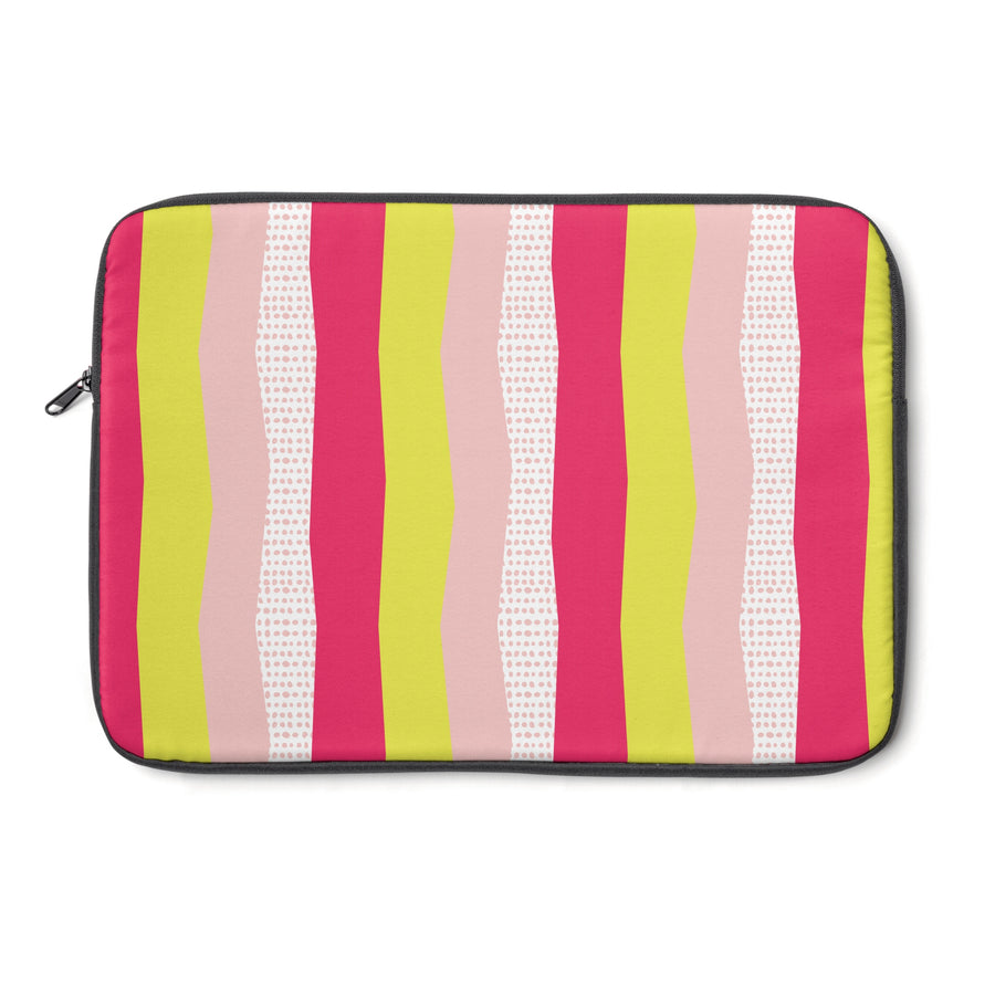 Sweet Stripes Laptop Sleeve