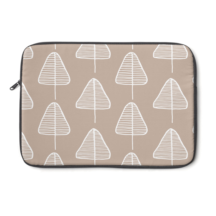 Calm Cone Trees Laptop Sleeve