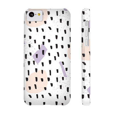 Black Sprinkles Phone Cases - Design Prints