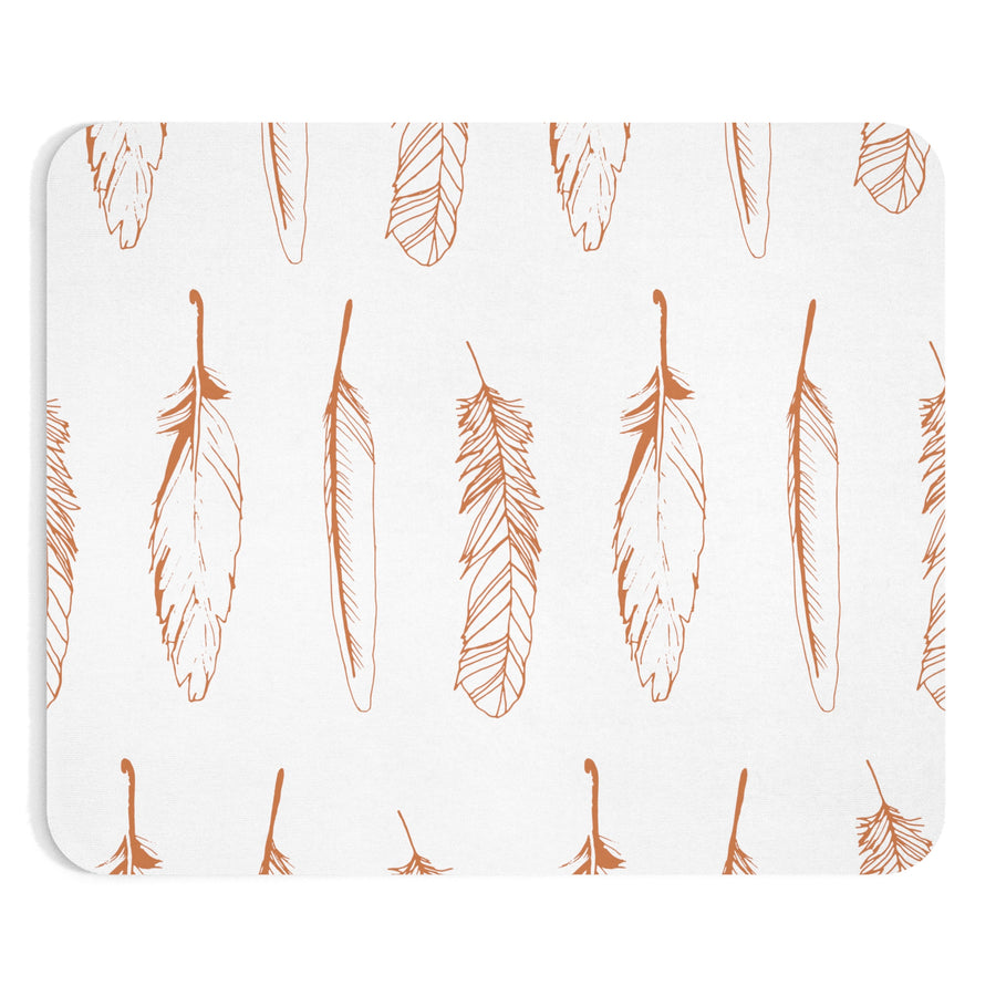 Boho Feather Mousepad