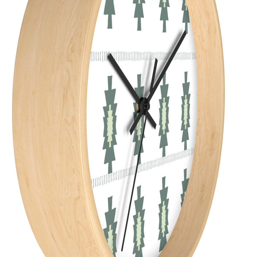 Pickle Pattern Wall clock