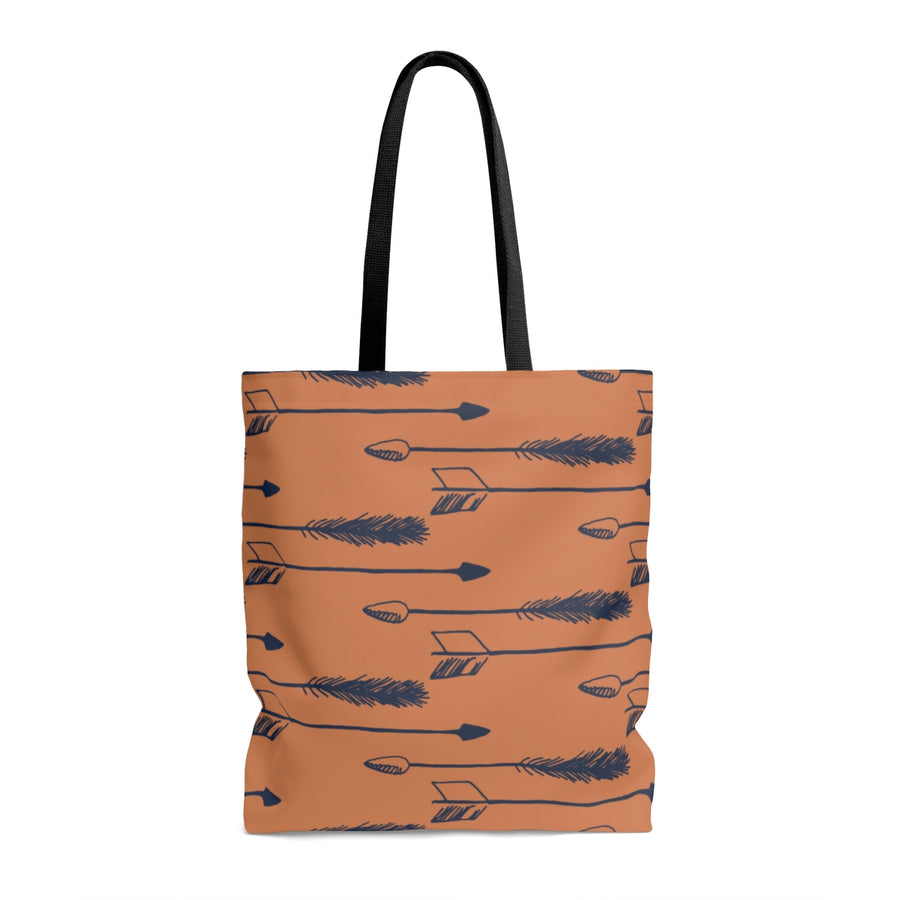 Tawny Arrows AOP Tote Bag