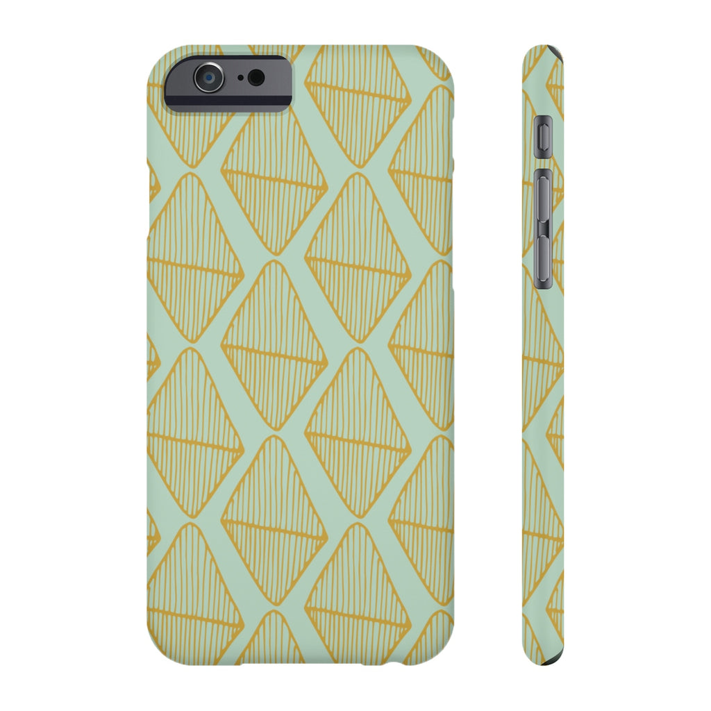 Diamond Leaves Phone Cases