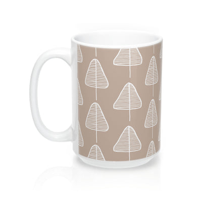 Calm Cone Trees Mug - Design Prints