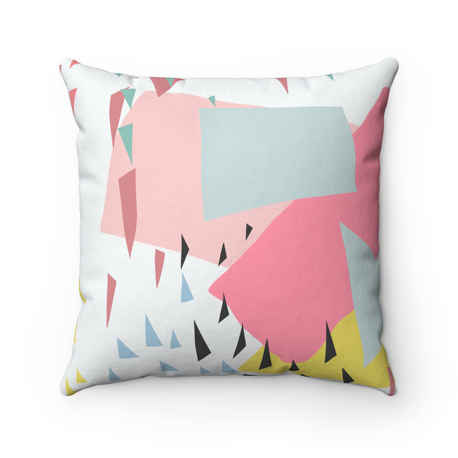High Up In The Sky Spun Polyester Square Pillow Case - Design Prints