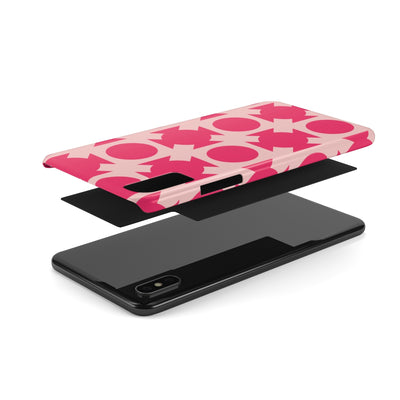 Pink Crossing Phone Cases