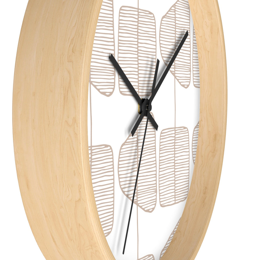 Simple Trees Wall clock