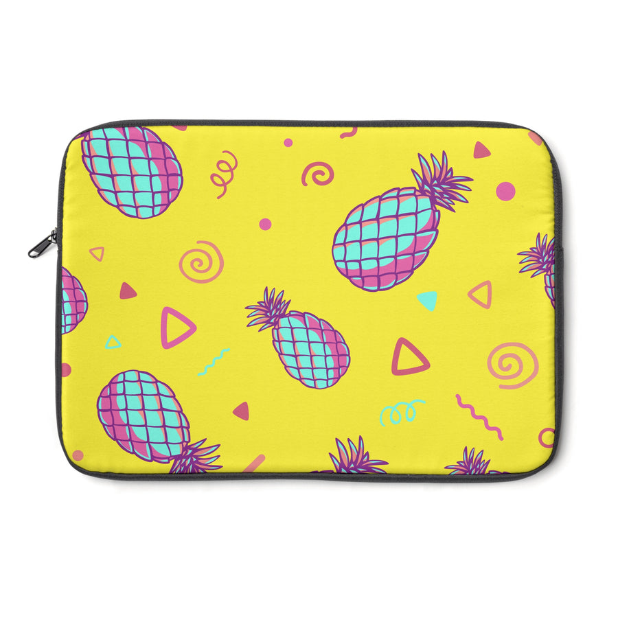 Retro Pineapples Laptop Sleeve - Design Prints