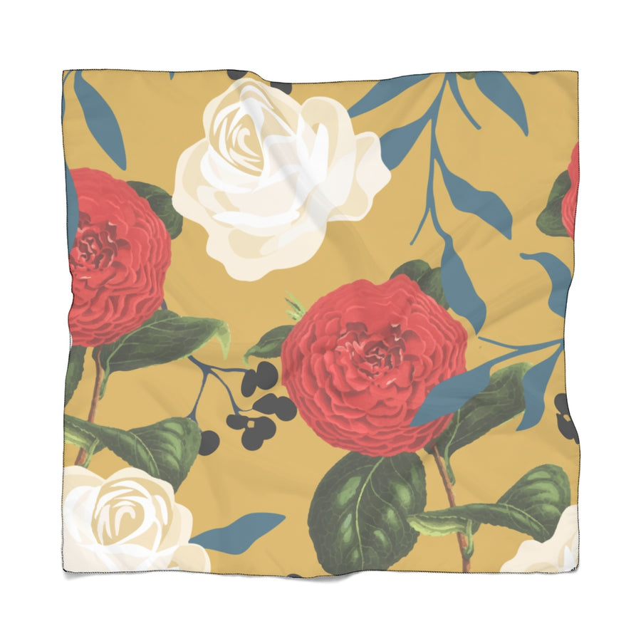 Floral Obsession Poly Scarf