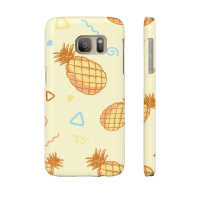 Vintage Pineapples Phone Cases