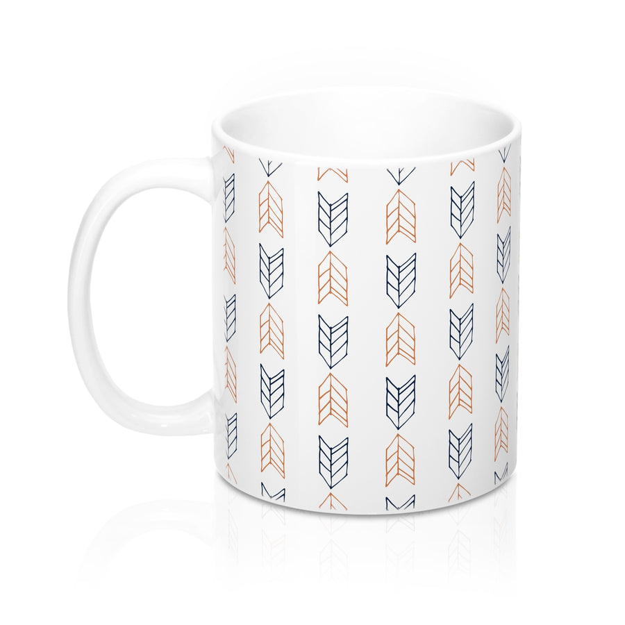 Up Down Arrows Mug