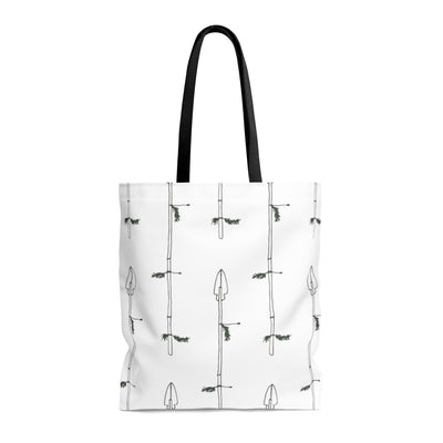 Arrow My Heart AOP Tote Bag - Design Prints