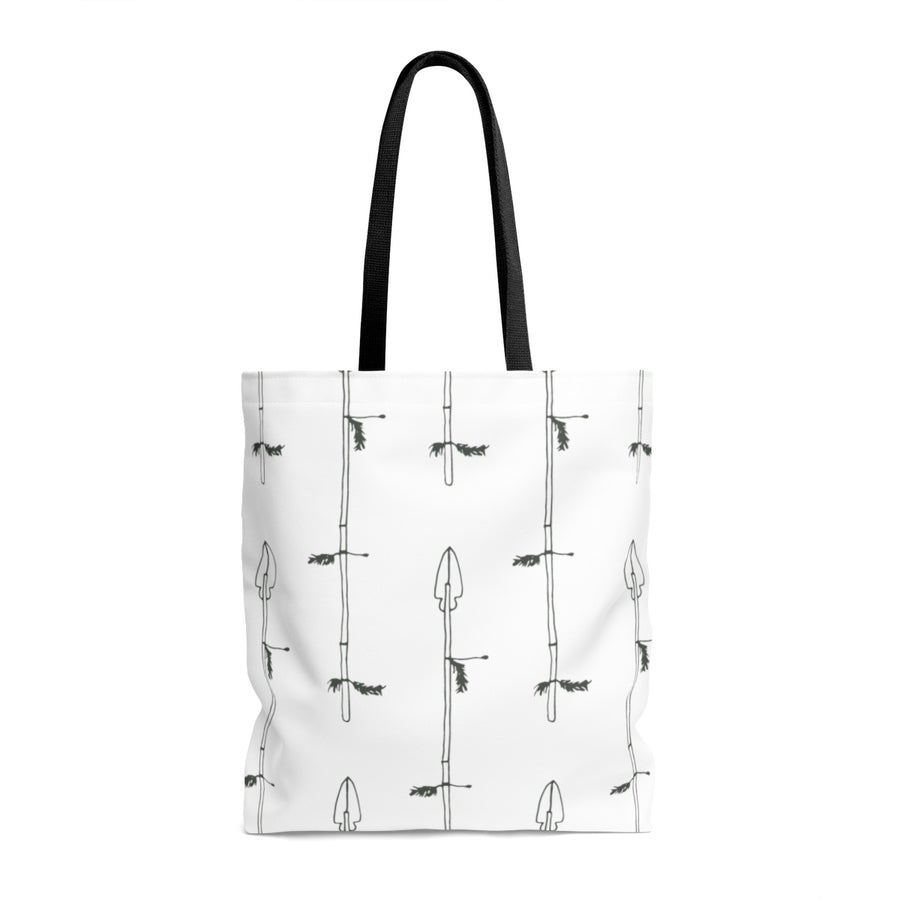 Arrow My Heart AOP Tote Bag