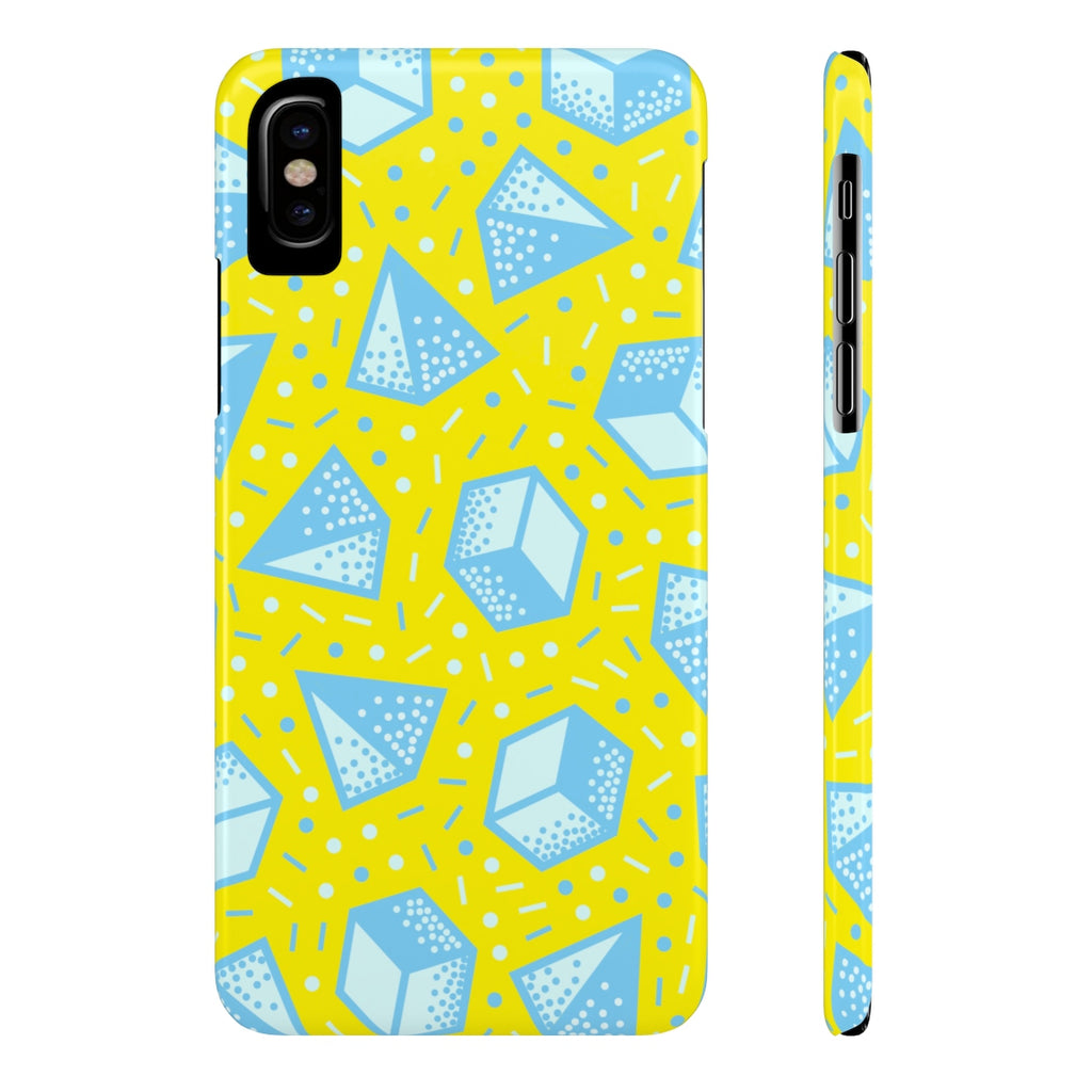Happy Pop Shapes Phone Cases