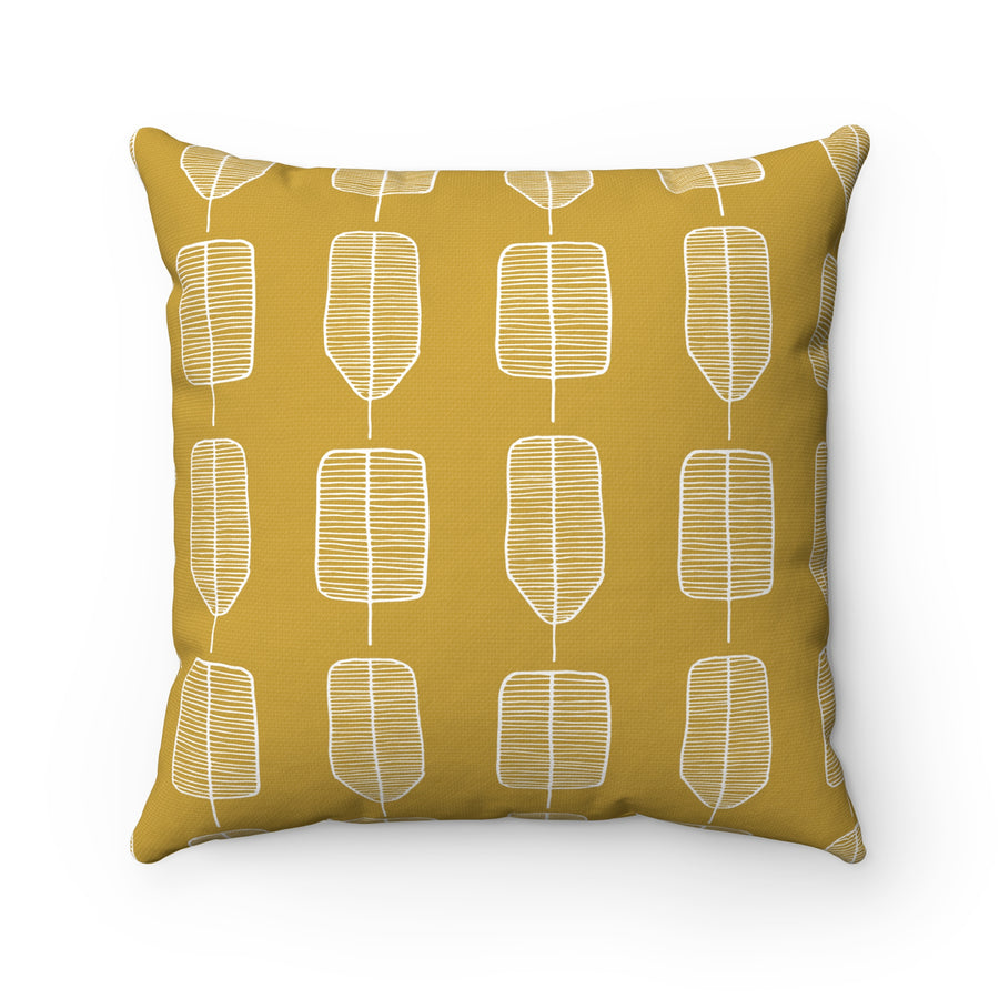 Harbinger Of Summer Spun Polyester Square Pillow Case