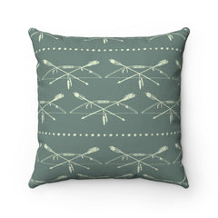 Bow and Arrows Square Pillow