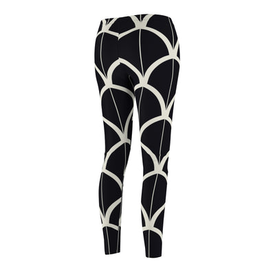Divisive Scales Casual Leggings - Design Prints