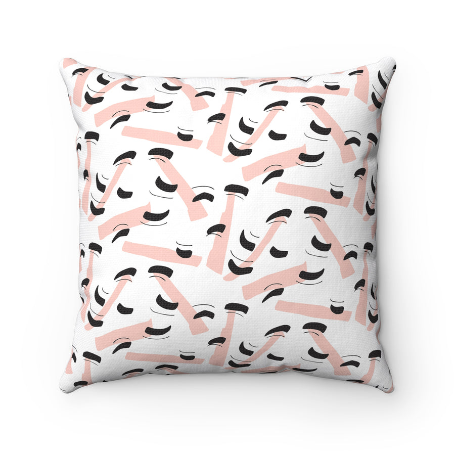 Arch Over Spun Polyester Square Pillow Case