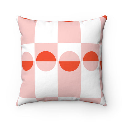 Opposites Attract Spun Polyester Square Pillow Case - Design Prints