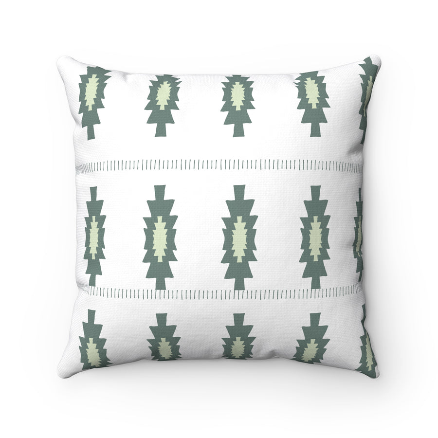 Pickle Pattern Spun Polyester Square Pillow Case
