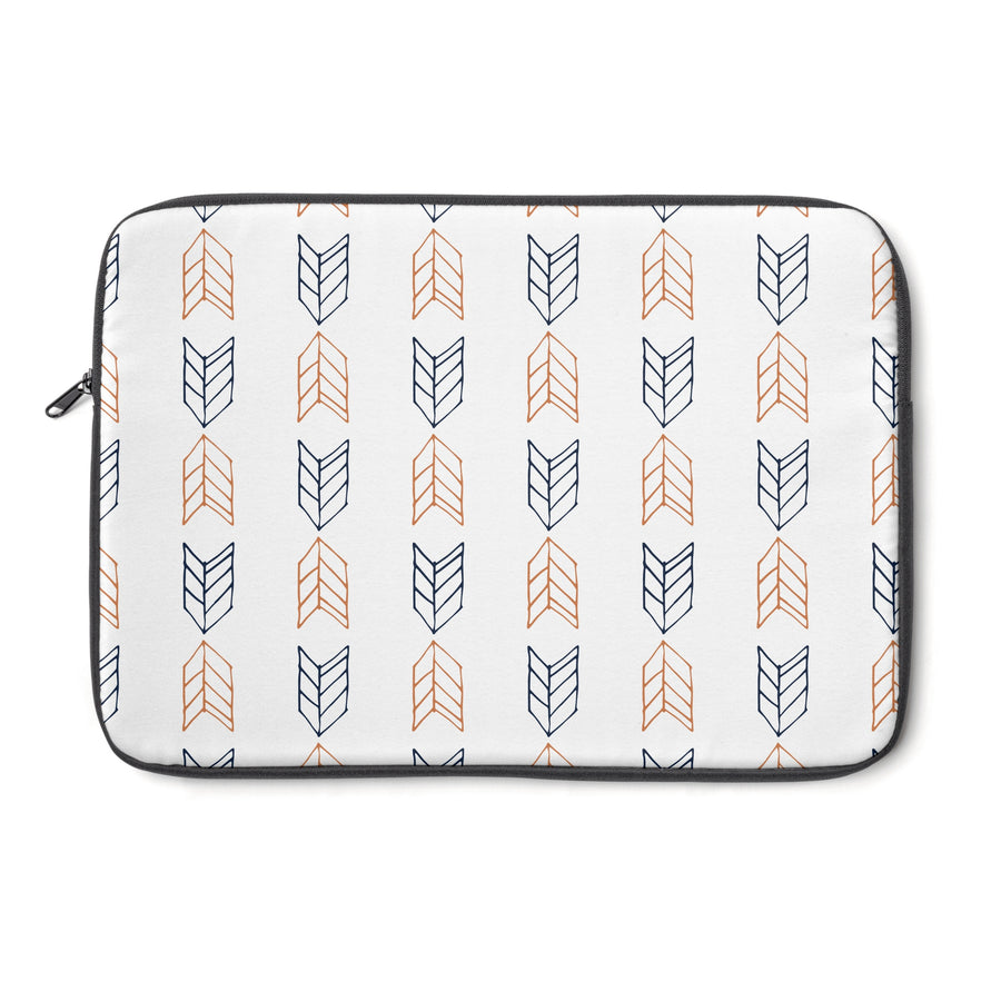 Up Down Arrows Laptop Sleeve - Design Prints