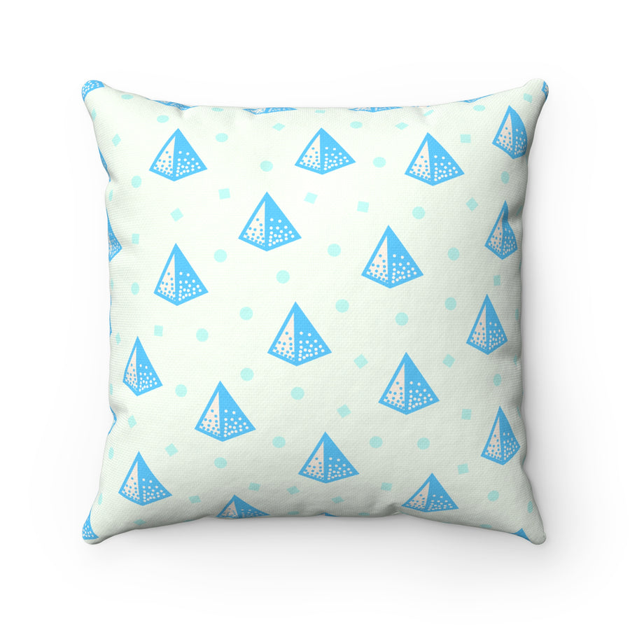 Pop Prism Spun Polyester Square Pillow Case