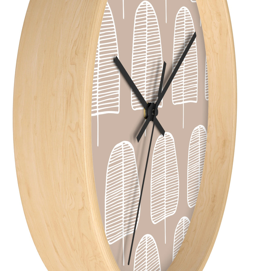 Brown Forest Wall clock