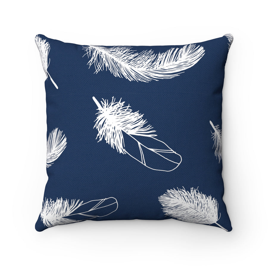 Oxford Feather Spun Polyester Square Pillow Case - Design Prints