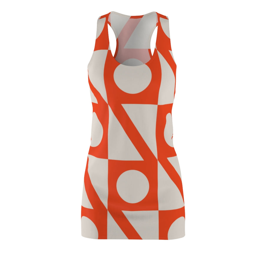 Hollowed Quad Racerback Dress - Design Prints