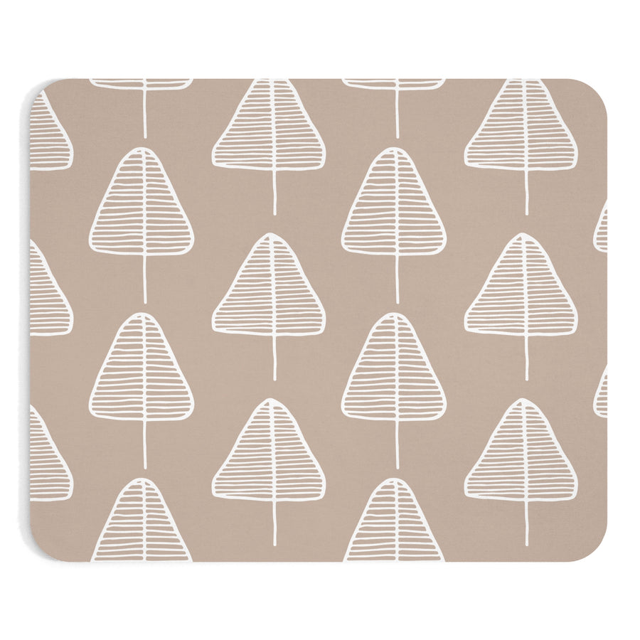 Calm Cone Trees Mousepad - Design Prints