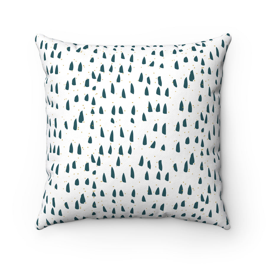 Forest View Spun Polyester Square Pillow Case