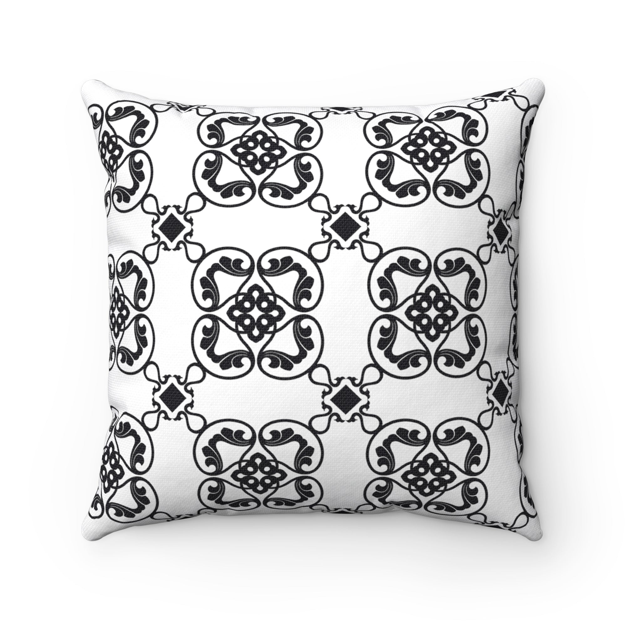 prints pillow by case thalia pop square cones spun products polyester
