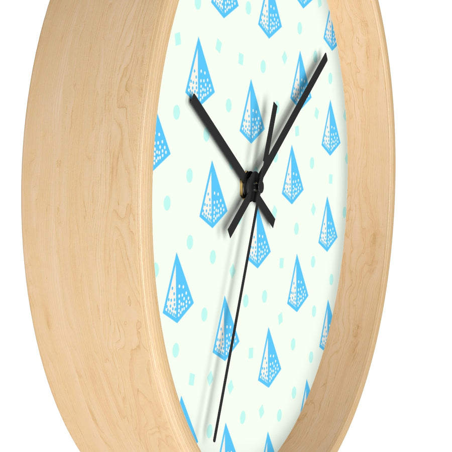 Pop Prism Wall clock