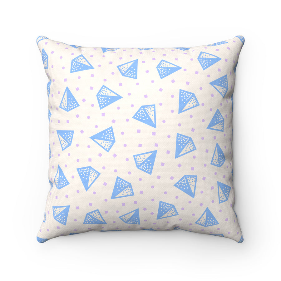 Pop Mute Spun Polyester Square Pillow Case