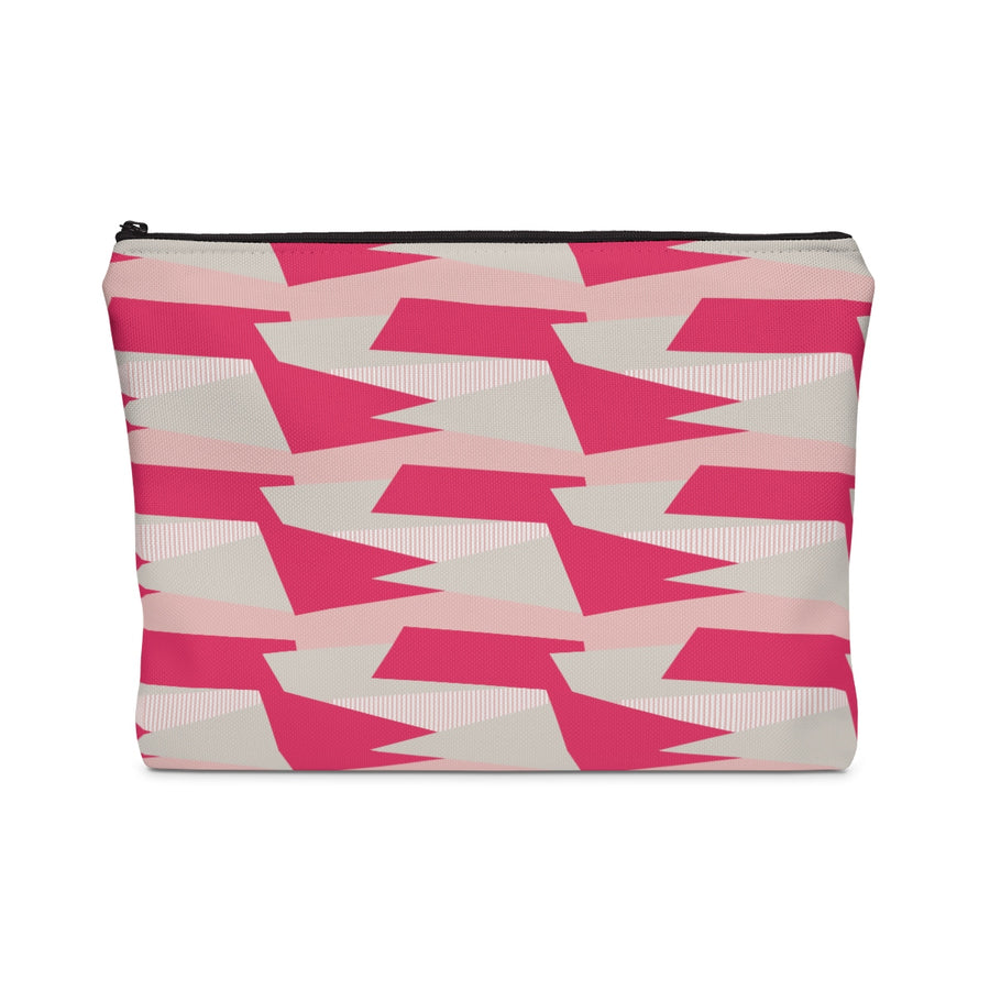 Pink Toon Carry All Pouch - Design Prints